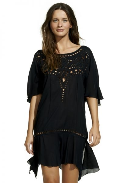 Vix Gabi Dress Black
