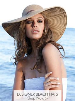 Designer Beach Hats